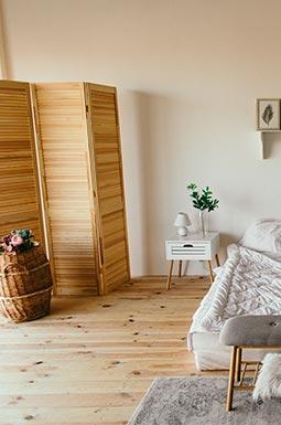 vintage interieur woonkamer